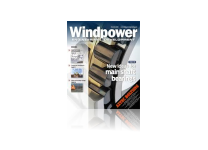 The cover of the November 2013, Wind Power Magazine