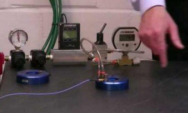 Surprise! Vacuum Preloaded Air Bearings Provide High Damping