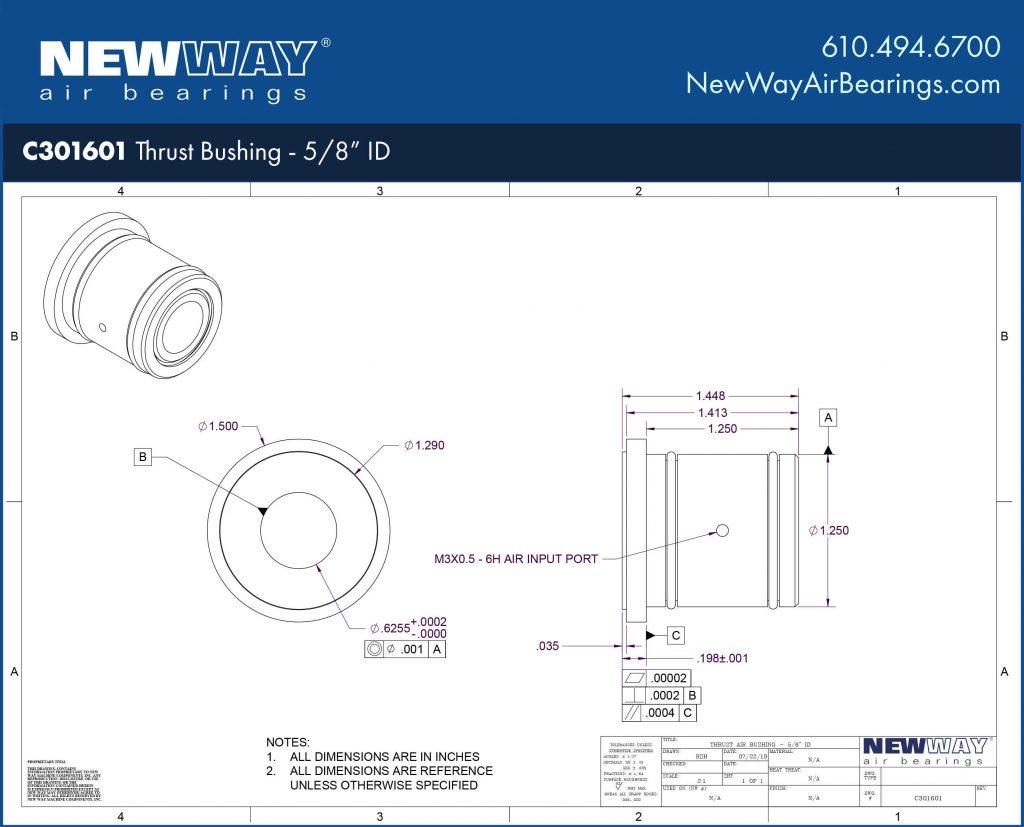 C301601 Engineering Drawing