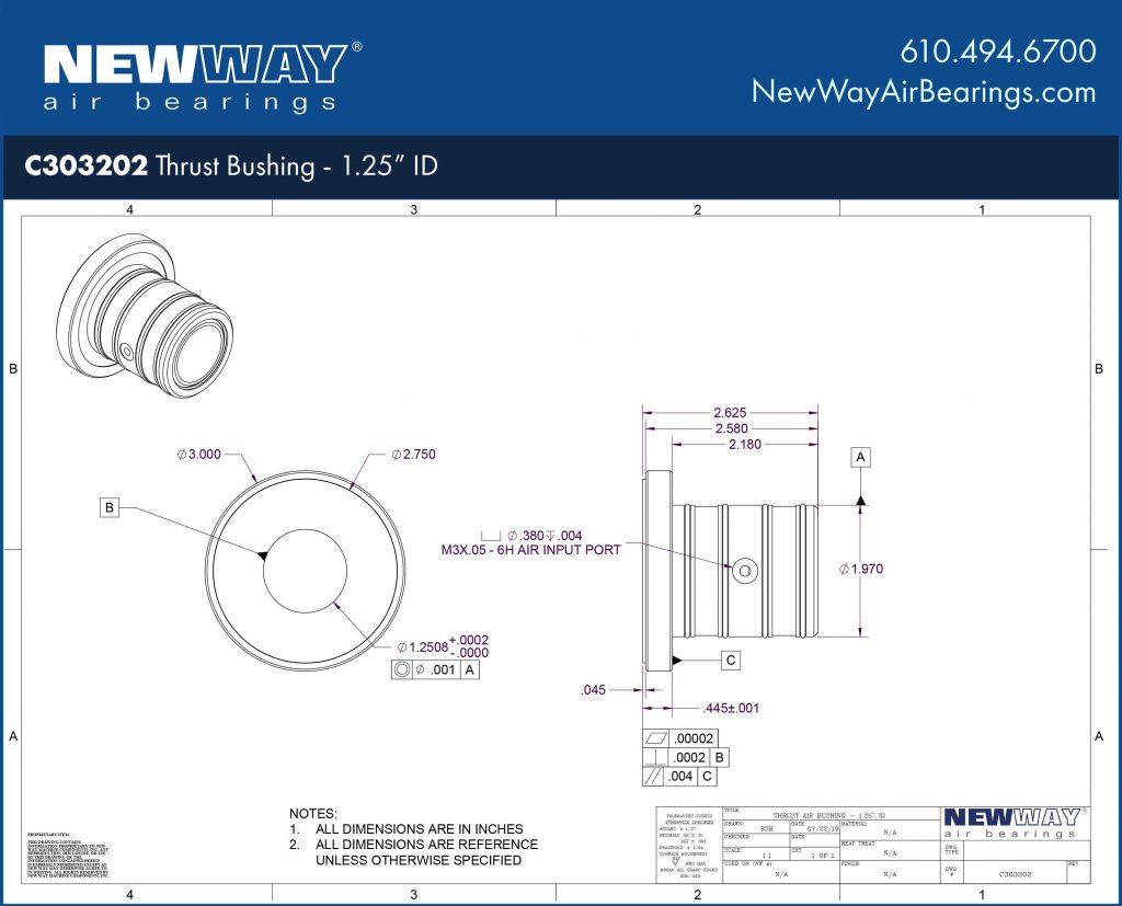 C303202 Engineering Drawing