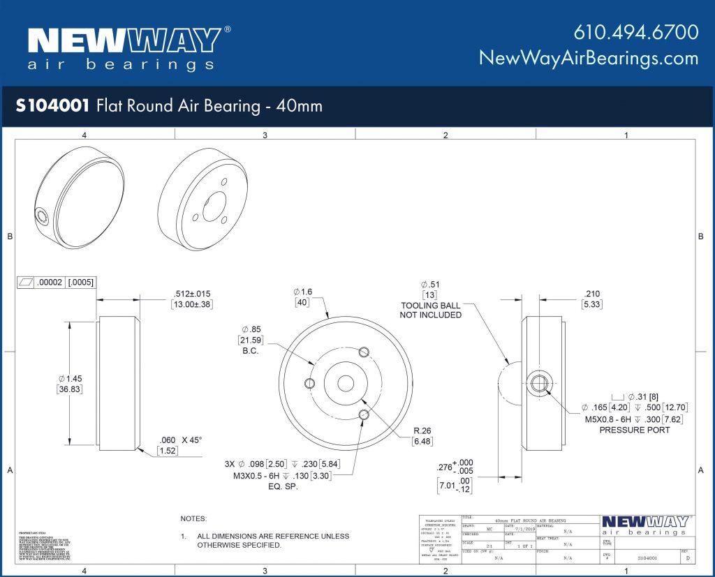 S104001 Engineering Drawing