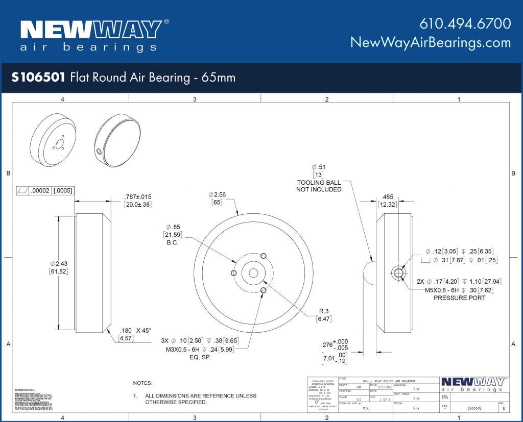 S106501 Engineering Drawing
