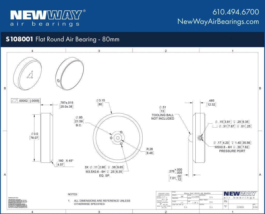S108001 Engineering Drawing