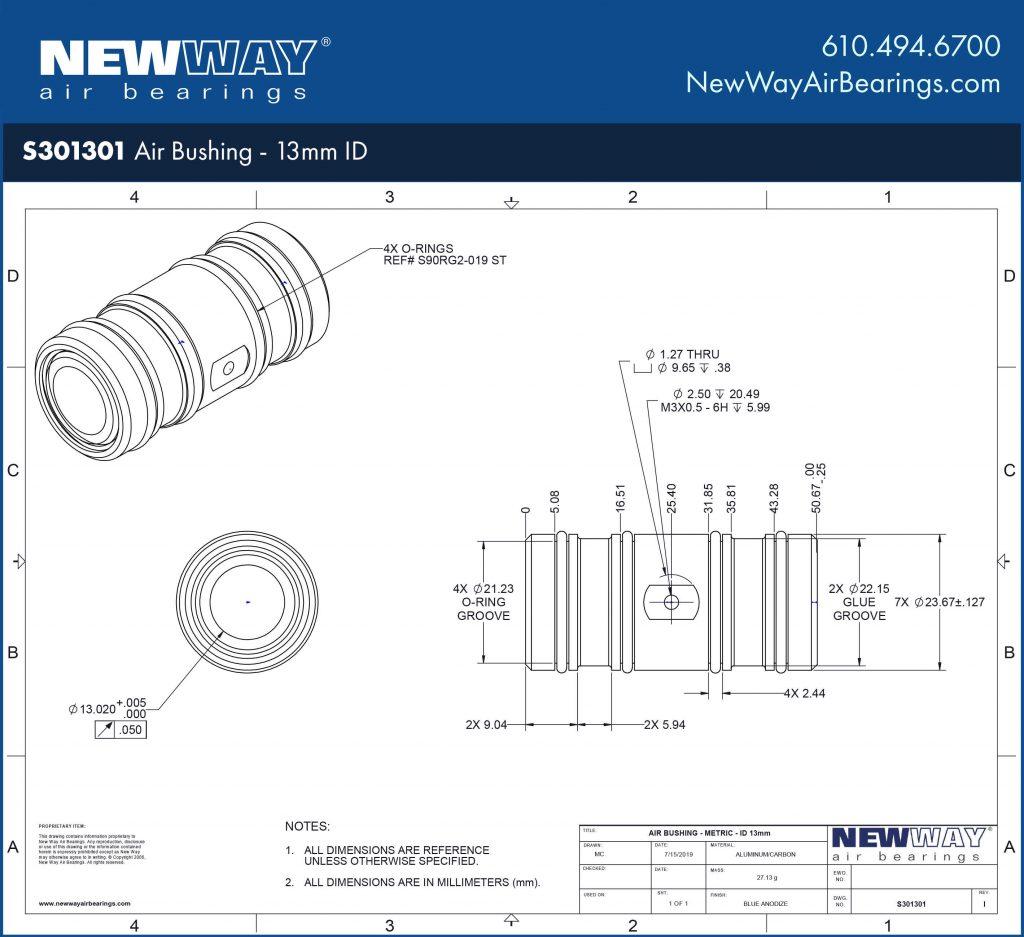S301301 Engineering Drawing