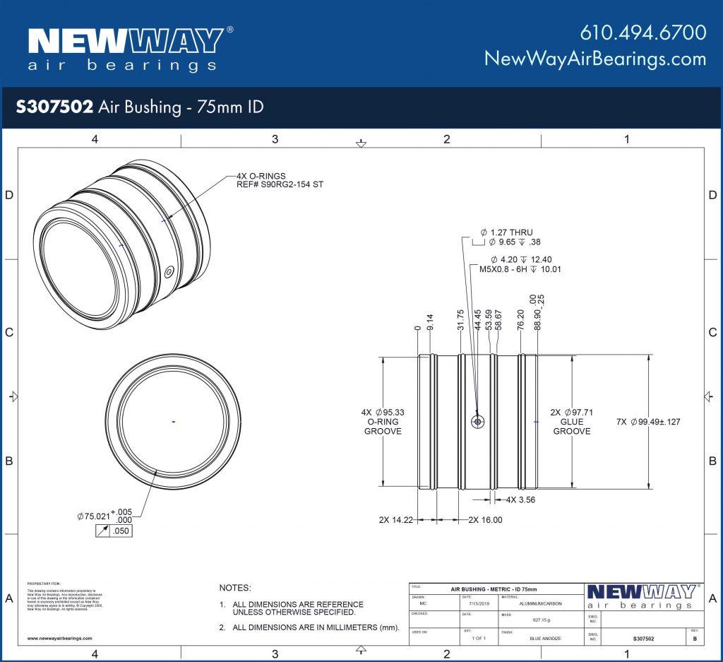 S307502 Engineering Drawing