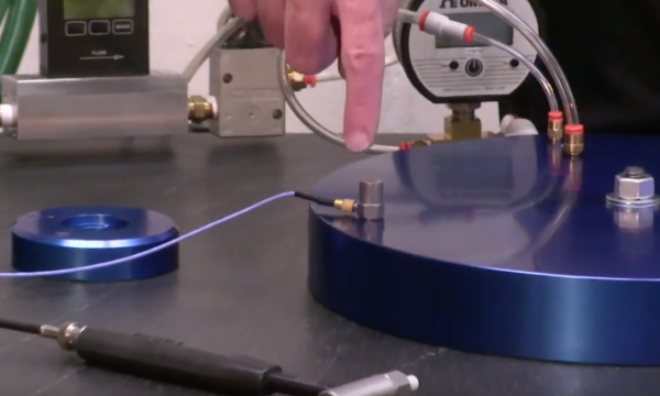 Testing Reveals High Air Bearing Air Film Stiffness and Damping