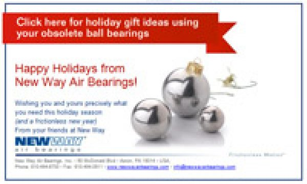 Holiday Uses For Your Obsolete Ball Bearings!