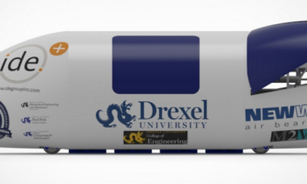 Drexel Connects with New Way to Pursue Elon Musk's Hyperloop Vision