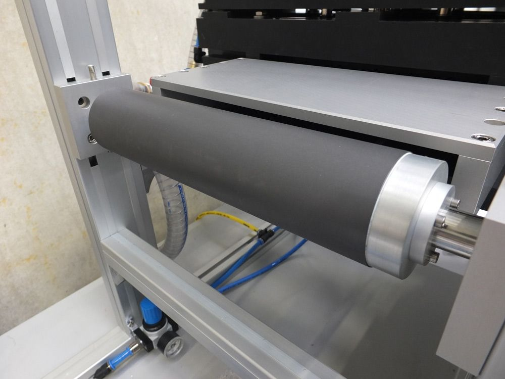 New Way Air Turn incorporated into an IBS precision engineering metrology fixture.