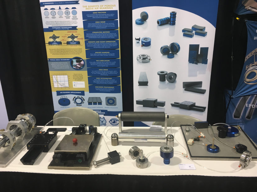 Optifab & New Way: A Spotlight on Air Bearings