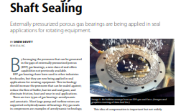 Technical Report 6 – Air Bearings for High-Power Turbomachinery