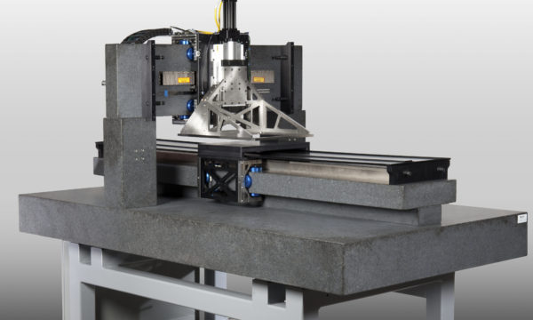 New Way Flat Round Air Bearings in Precision Machining Application