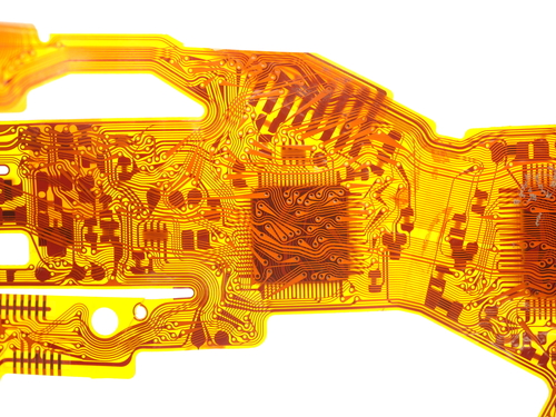 New Way offers solutions to produce flexible printed circuits requiring extreme precision such as these.