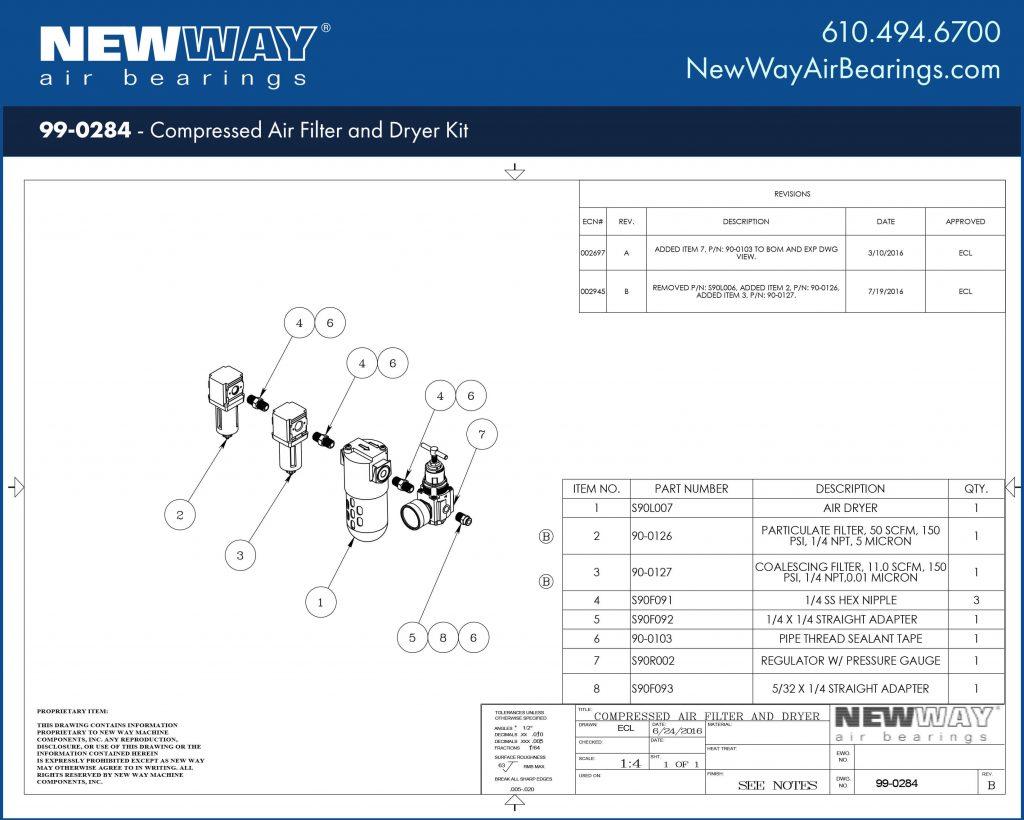 99-0284 Engineering Drawing