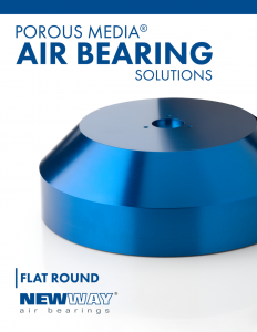 New Way Air Bearings Flat Round Brochure