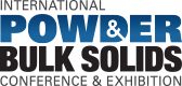 Logo depicting the International Powder and Bulk Solids Conference and Exhibition.