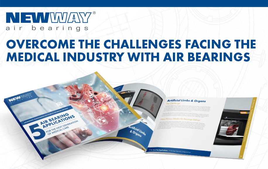 A picture of the eBook entitled Air Bearings: Transforming the Future of the Medical Industry available as a free download.