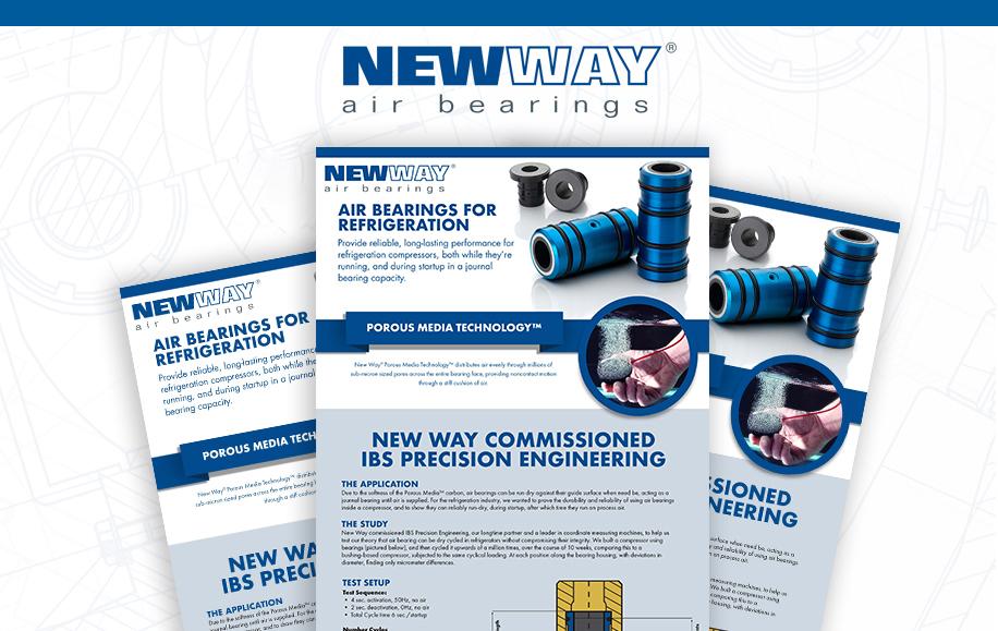 Air Bearing Refrigeration Drawing.