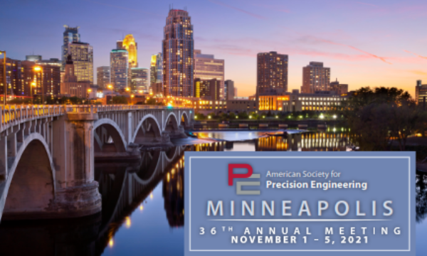 Logo of the ASPE 36th Annual Meeting showing downtown Minneapolis